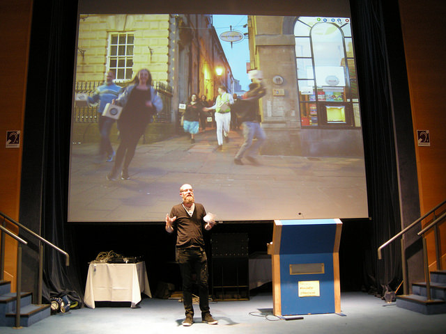 Duncan Speakman – The social composition of A Folded Path and the myth of interactivity. Photo: Nikki Pugh
