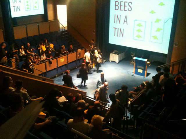 Bees in a Tin gets started. Photo: Katie Day